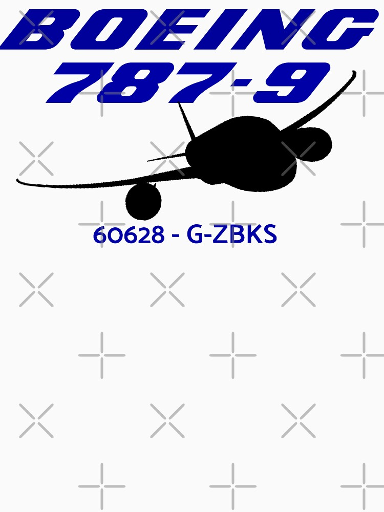 Boeing 787-9 60628 G-ZBKS (Black Print) by AvGeekCentral