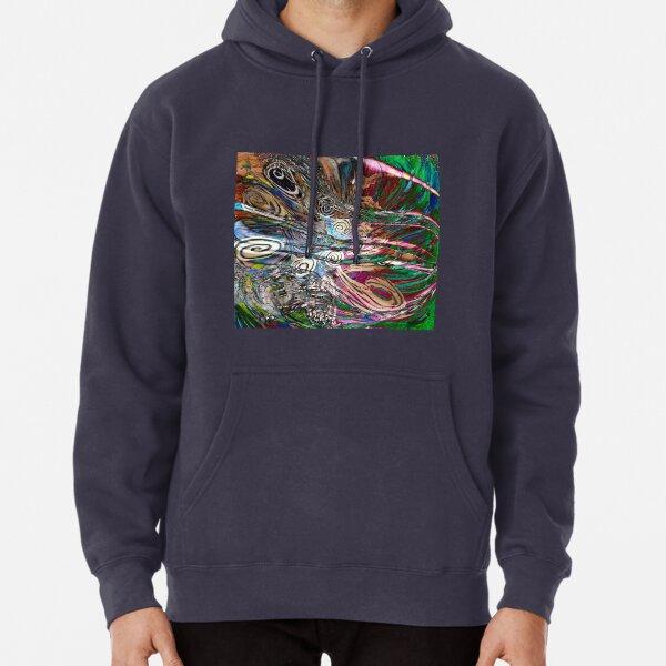 fluid energetic flow abstract Pullover Hoodie