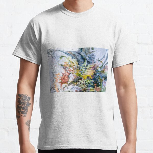 fluid objects art abstraction Classic T-Shirt
