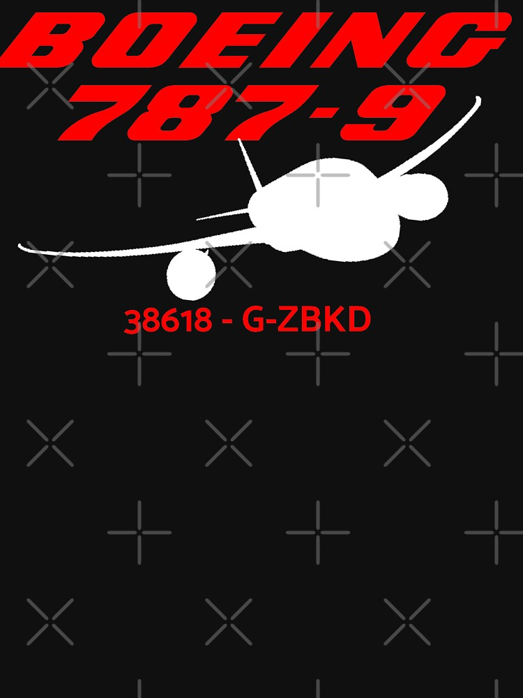 Boeing 787-9 38618 G-ZBKD (White Print) by AvGeekCentral