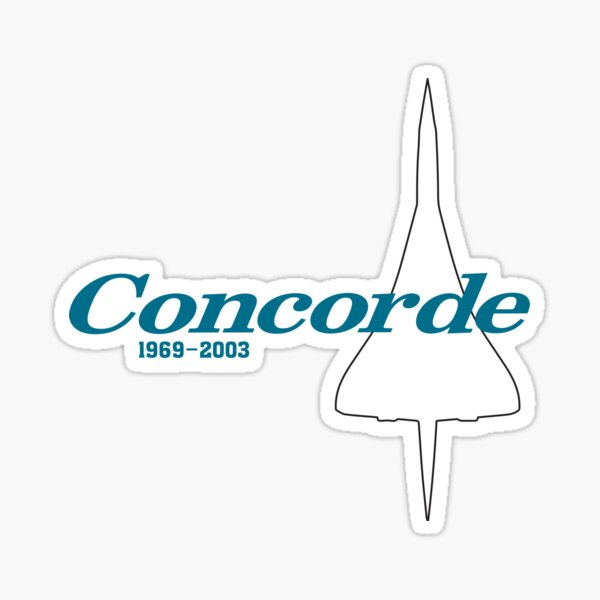 Concorde Sticker