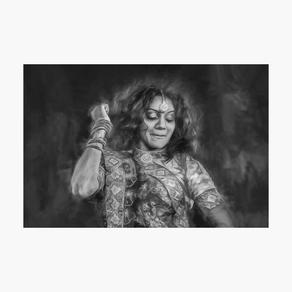 The Joy of Dance (black & white) Photographic Print