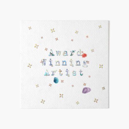 Award Winning Artist Design Keeps You Inspired And Creating! Art Board Print