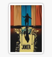 The Joker Joaquin Phoenix poster Sticker