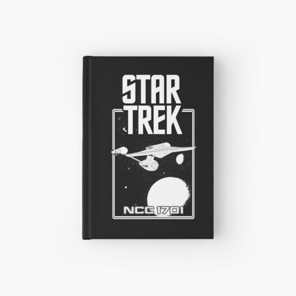 Enterprise NCC 1701 Black and White Hardcover Journal