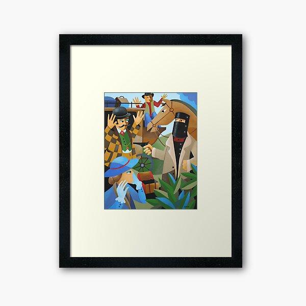 BAILED UP Framed Art Print