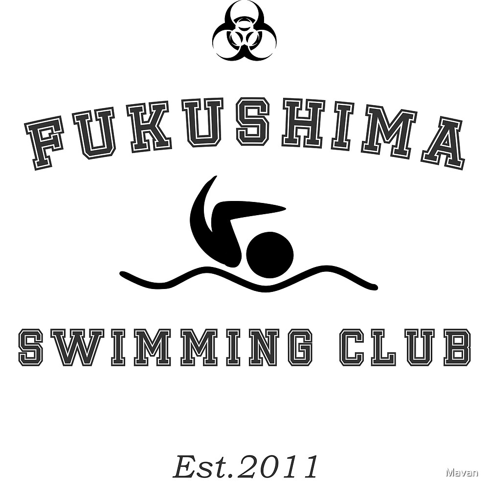 Fukushima Swimming Club by Mavan