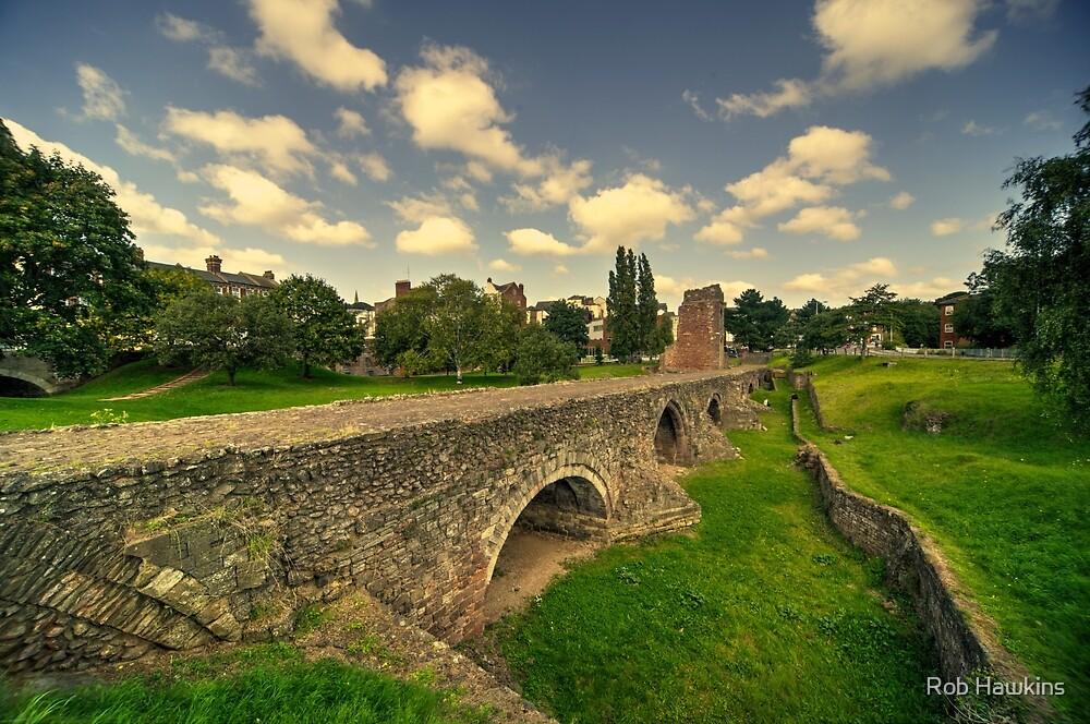 Old Exe Bridge  by Rob Hawkins