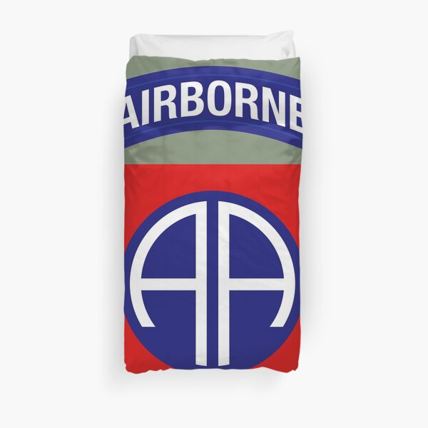 82nd Airborne Division (US Army) Duvet Cover