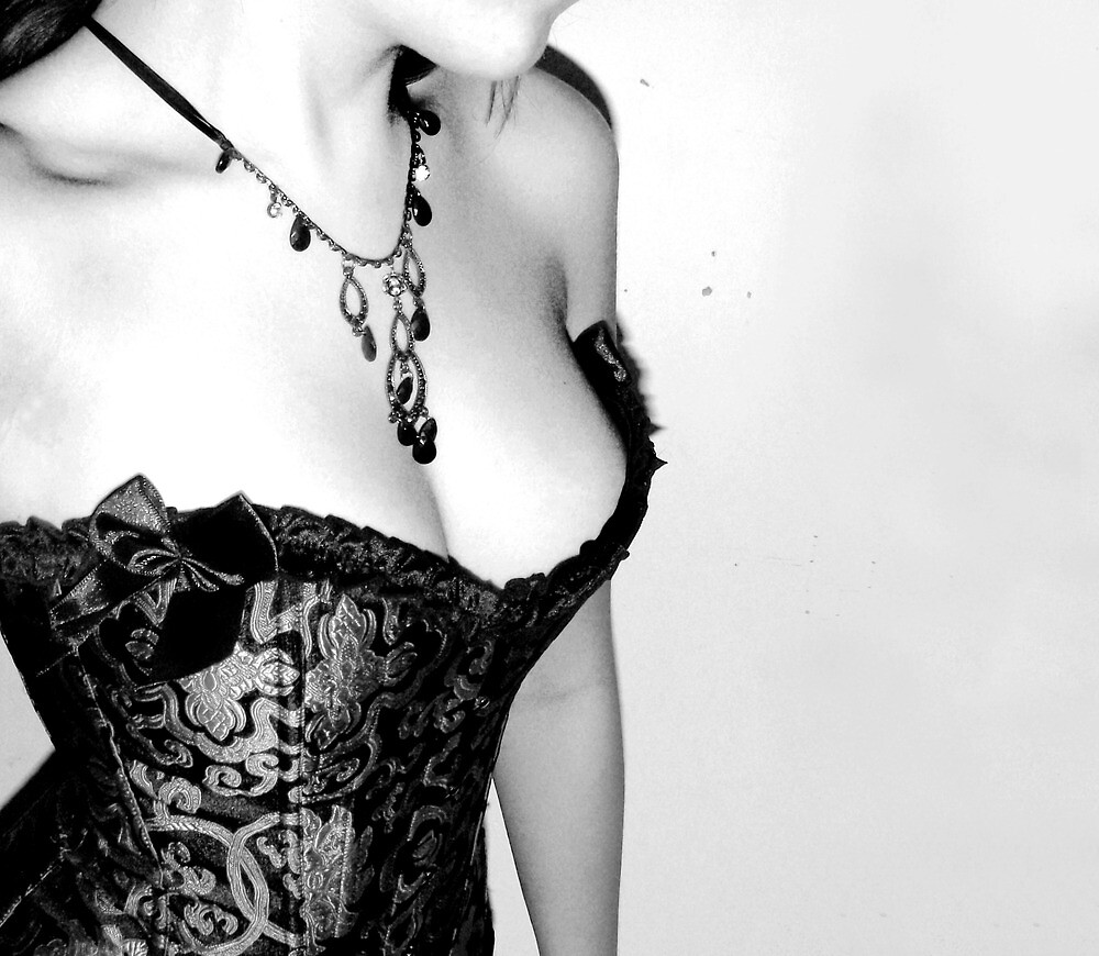 """""""A woman in a corset is a lie, a falsehood, a fiction. But for us, this fiction is better than the reality"""" by EdenF"""