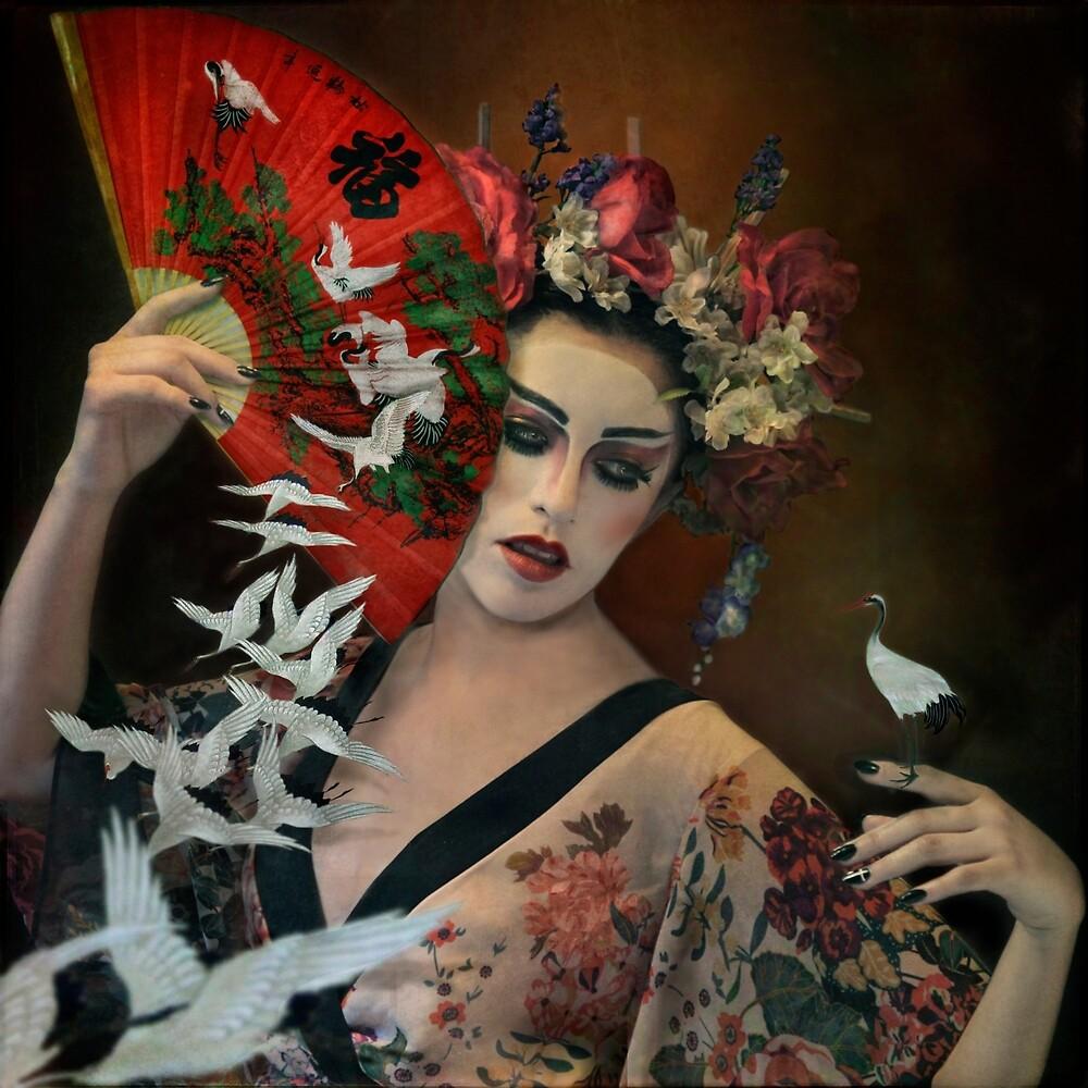 Flight of the Cranes by Trini Schultz