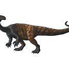 Plateosaurus engelhardti by Sean Closson
