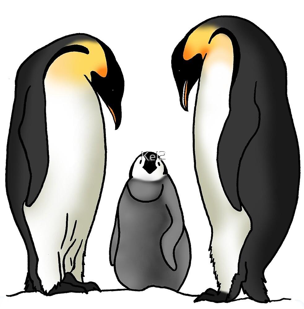 Penguins by Kel2