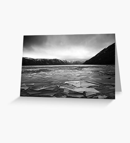 Icy Loch 5 Greeting Card