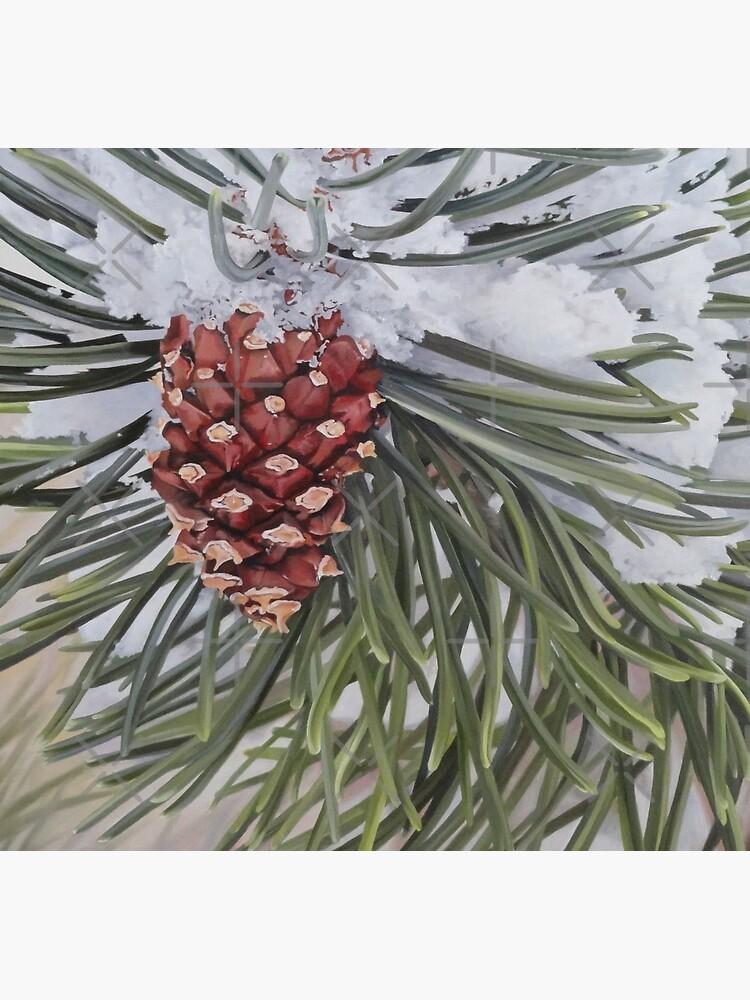 Winter Pine by EmilyBickell