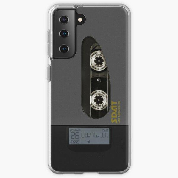 El reproductor SDAT de Shinji (Galaxy Ver.) Funda blanda para Samsung Galaxy