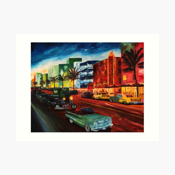 Cadillac Art Prints
