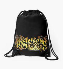 Dragon's Crown Logo Drawstring Bag