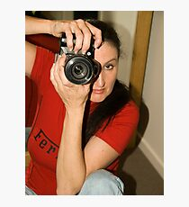 Shooting Vicki Ferrari July 2010 © Photographic Print