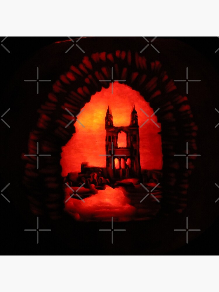 St Andrews Cathedral Pumpkin Carving by MotiBlack