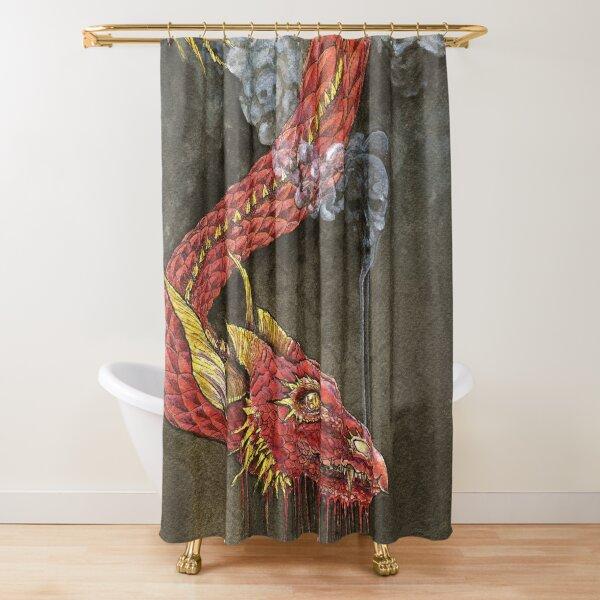Breath of Death Shower Curtain