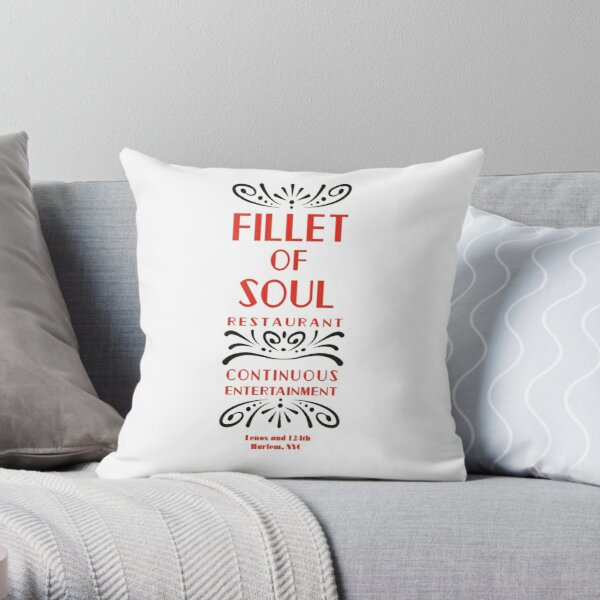 Fillet of Soul Throw Pillow