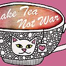 Make Tea Not War by mintdawn