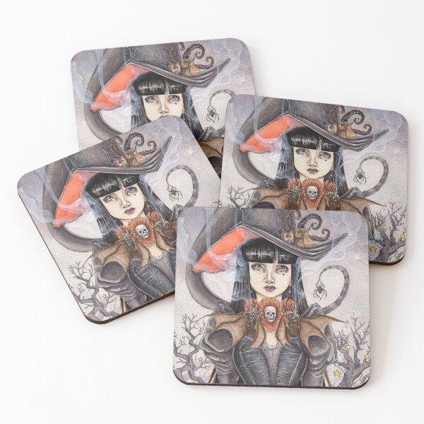 Bat Tea Coasters (Set of 4)