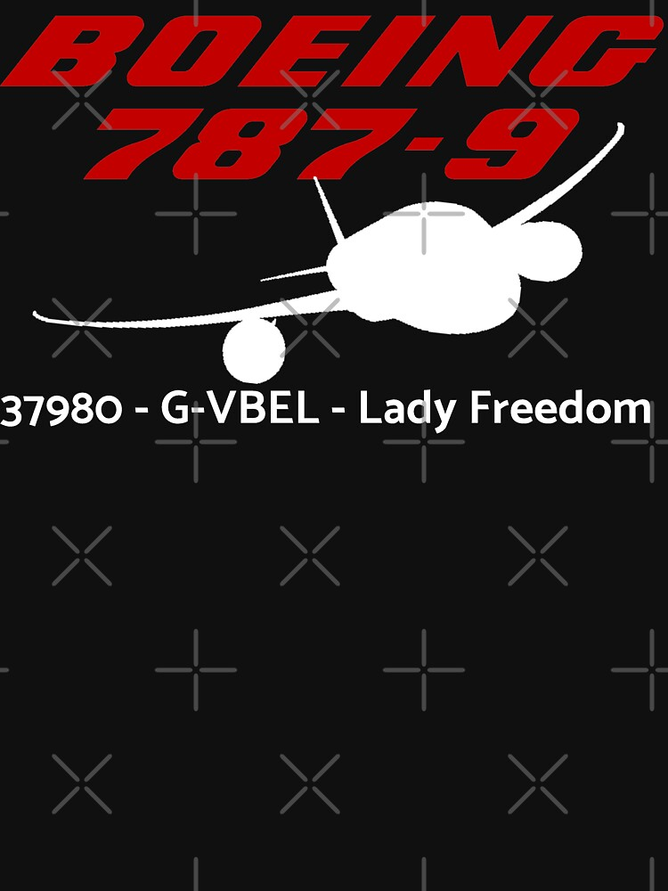 Boeing 787-9 37980 G-VBEL (White Print) by AvGeekCentral