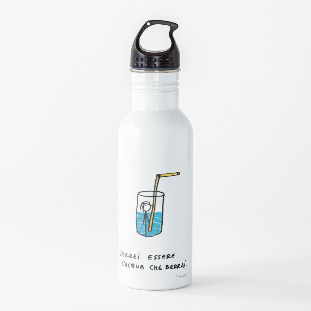 Lilybris - L'acqua che berrai  Water Bottle