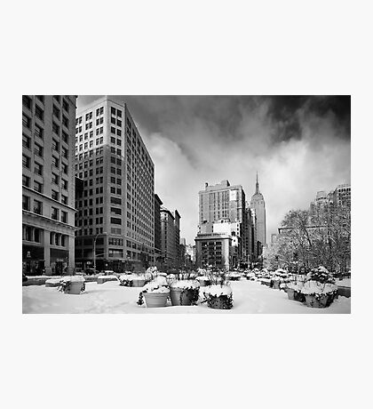 New York - Empire State Building Photographic Print