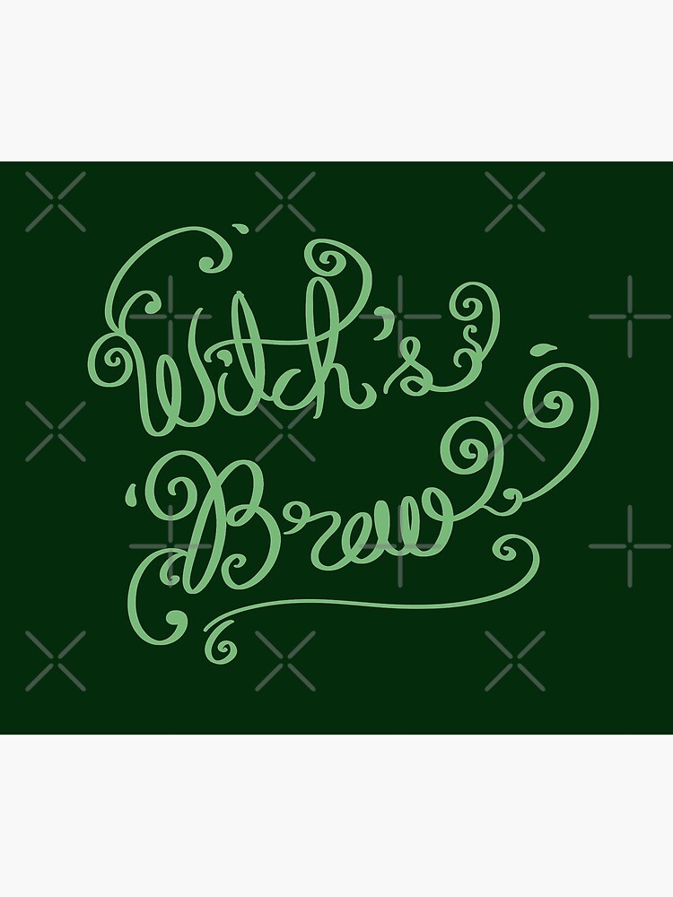 Witch's Brew Font art by MaeganCook
