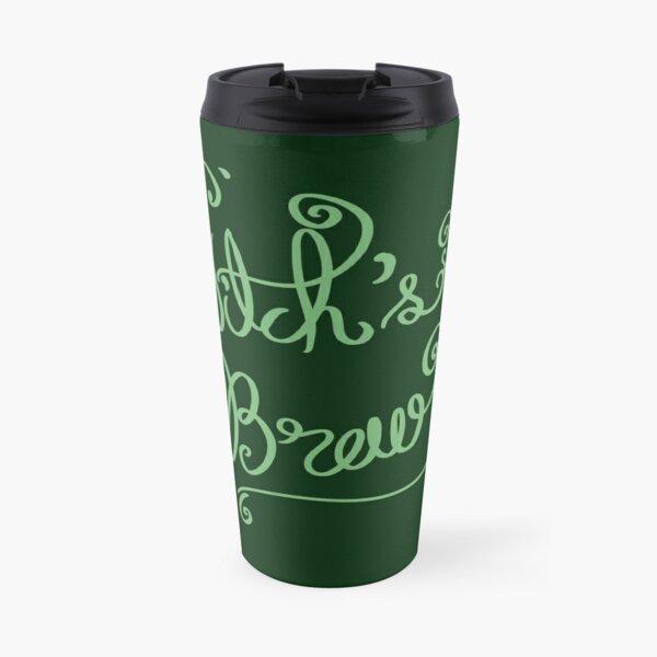Witch's Brew Font art Travel Mug