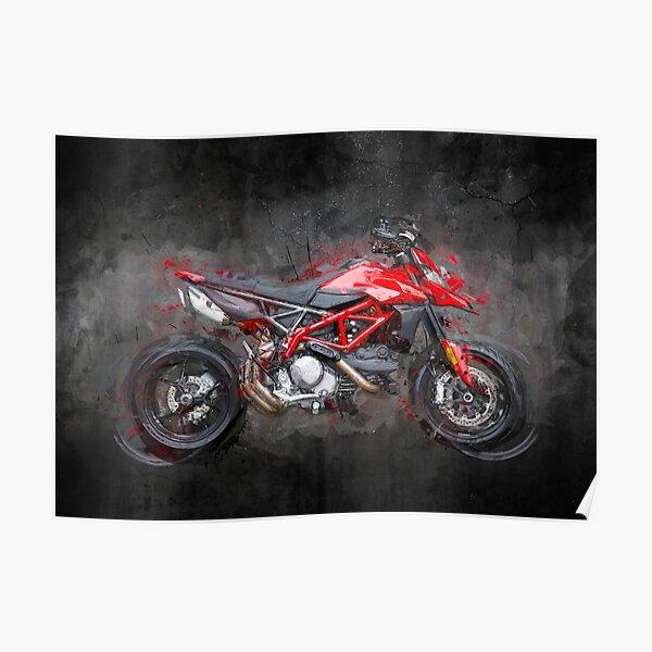 Ducati Hypermotard 950 affiche Poster