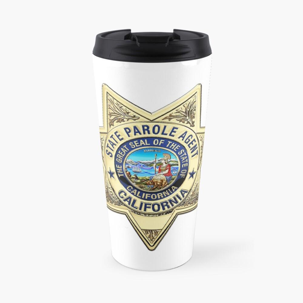 California Parole Officer Travel Mug