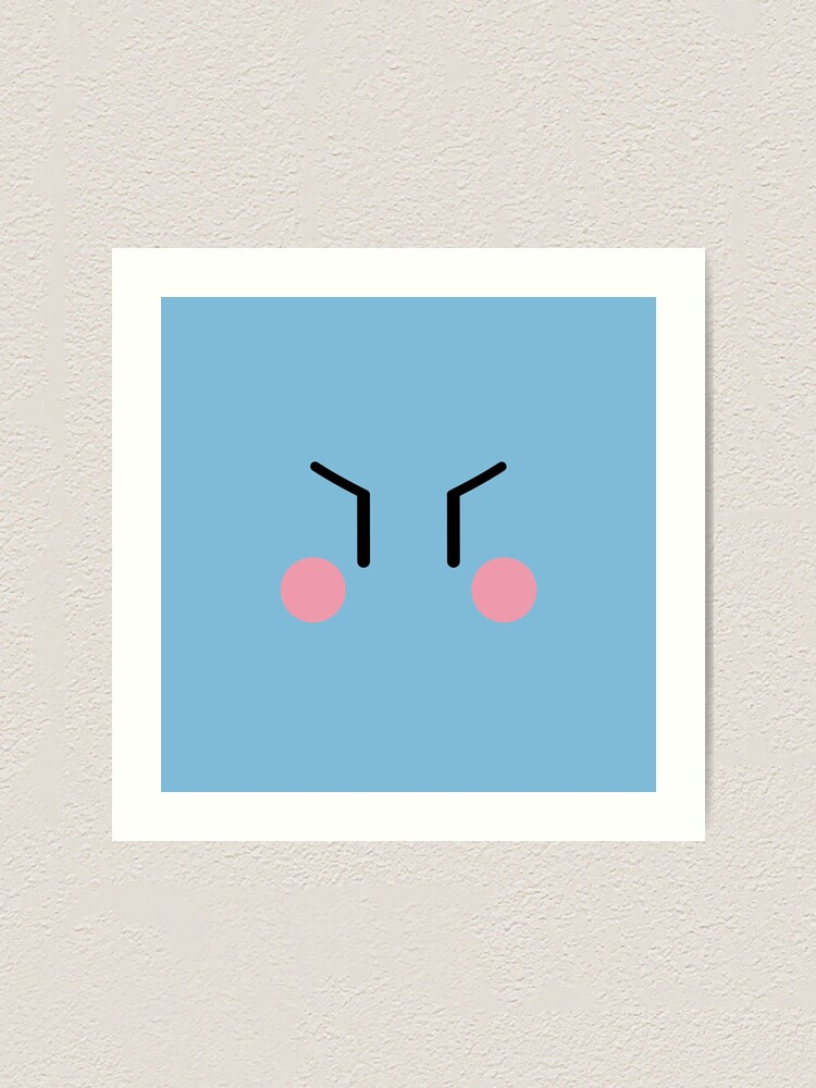 Clannad Dango Face Male Variant Art Print By The Third Redbubble