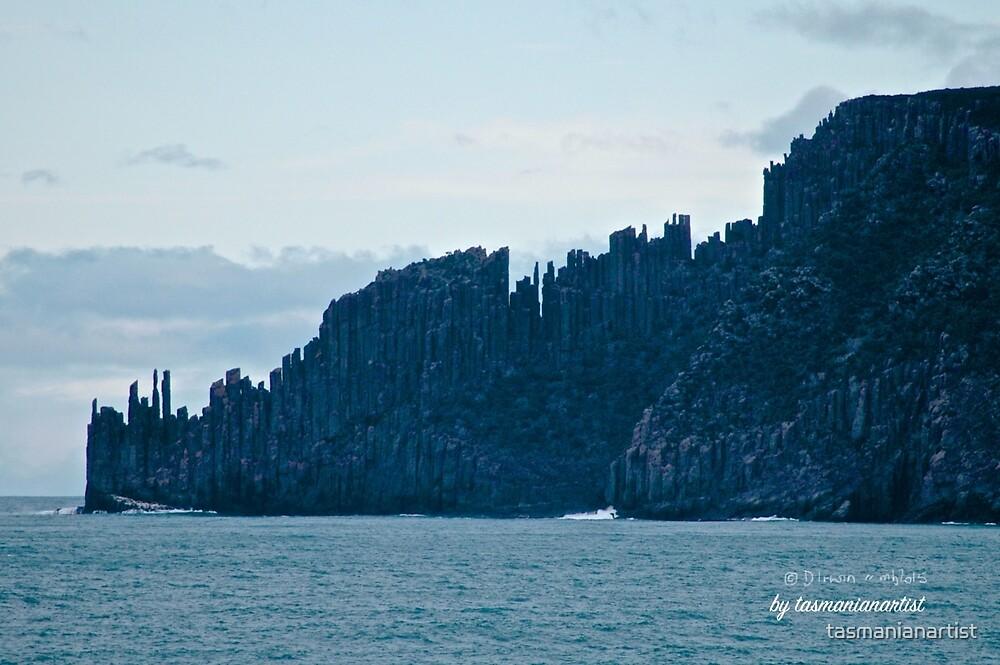 TASMAN PENINSULA ~ Ghostly Cape Raoul by tasmanianartist by tasmanianartist