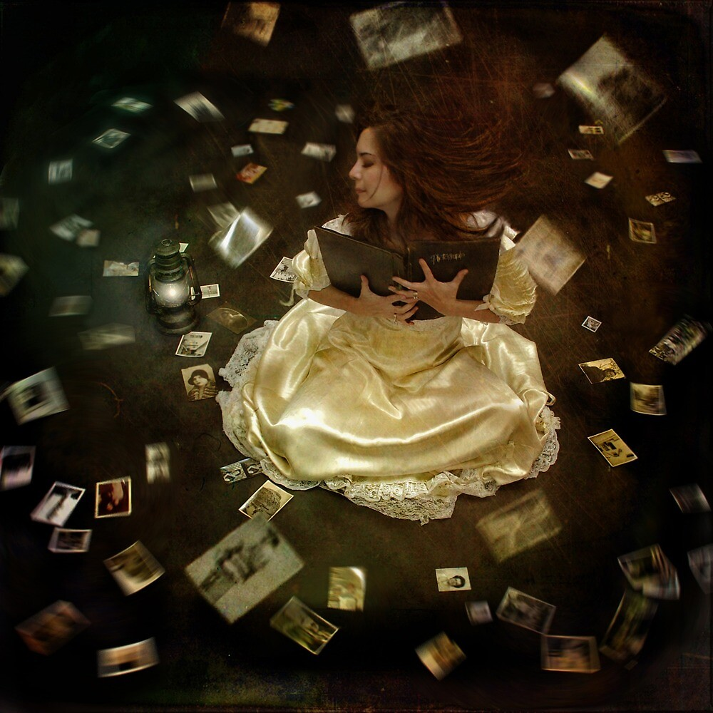 Transported Back in Time Through Memories by Trini Schultz