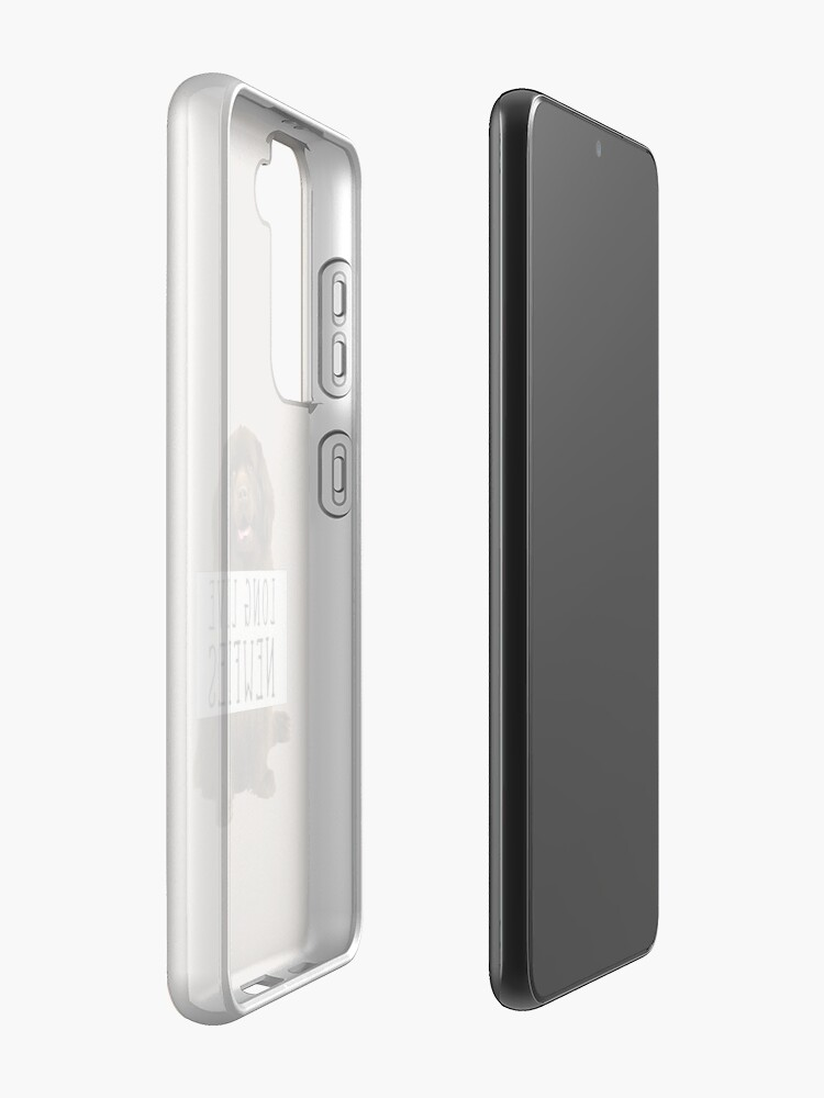 Alternate view of Long Live Newfies - With Sign Case & Skin for Samsung Galaxy