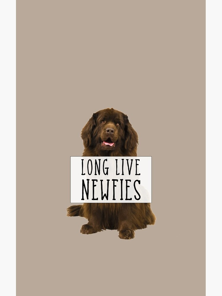 Long Live Newfies - With Sign by itsmechris