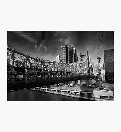 Manhattan from Roosevelt Island Tramway Photographic Print