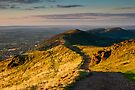 First light on the Malvern Hills by Cliff Williams