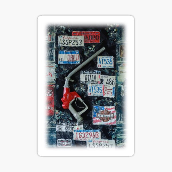 Remove the Petrol Nozzle Sticker