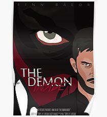 """""""The Demon Inside"""" Poster"""