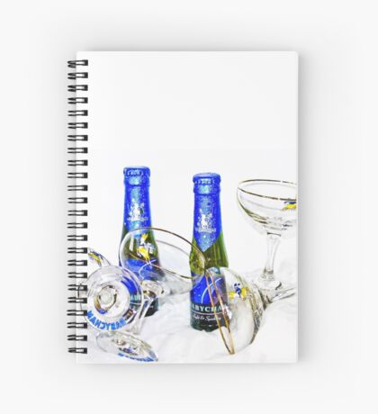 Vintage bubbly Spiral Notebook