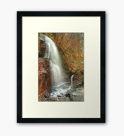 Kemback Waterfall Framed Print