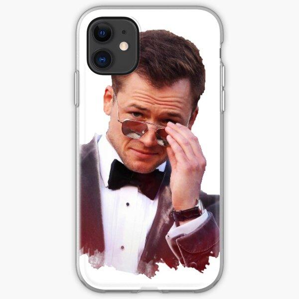 Taron Egerton Sunglasses iPhone Soft Case