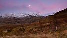 Dawn at Meall nan Tarmachan by Cliff Williams