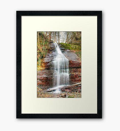 Kemback falls Framed Print