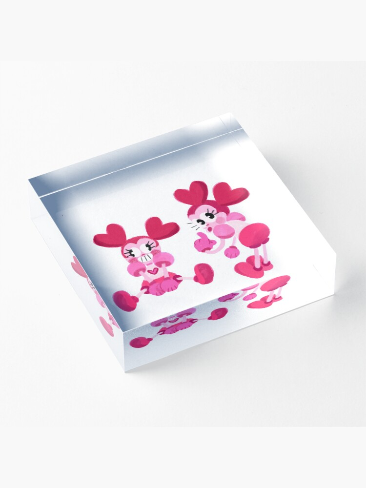Alternate view of Goofy Spinel Acrylic Block